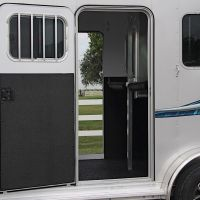 Horse-Bumper-Pull-724-ST-11-Escape-Door